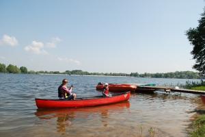 Kleine Paddeltour auf dem Lac de Bouzey FOTO: NIEMEYER